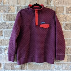 Patagonia Organic Cotton Quilt Snap-T Sweatshirt L